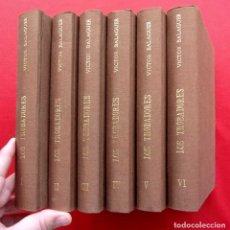 Libros antiguos: HISTORIA POLÍTICA Y LITERARIA DE LOS TROVADORES. AÑO: 1878. VICTOR BALAGUER. OBRA COMPLETA. 6 TOMOS.. Lote 187199711