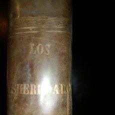Libros antiguos: LOS DESHEREDADOS. ¿AÑO 1910 ? LITERATURA ESPAÑOLA. . Lote 190343865