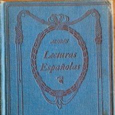 Libros antiguos: LECTURAS ESPAÑOLAS. AZORIN. EDICIÓN THOMAS NELSON 1912. Lote 190728131