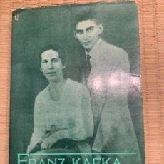 Libros antiguos: FRANK KAFKA, CARTAS A FELICE 1913. Lote 190992920