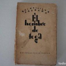 Libros antiguos: EL HOMBRE DE TOGA QUINTILIANO SALDAÑA CUATRO ENSAYOS BIBLIOTECA NUEVA MADRID 1927. Lote 191367961
