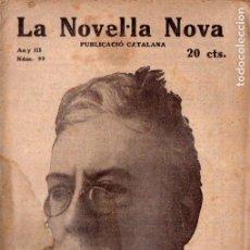 Libros antiguos: ANGEL GUIMERÀ : LA LLENGUA CATALANA (LA NOVEL.LA NOVA, C. 1920) - CATALÁN. Lote 192856406
