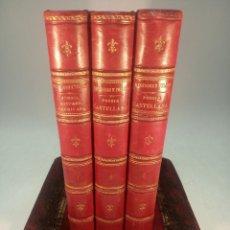 Libros antiguos: HISTORIA DE LA POESÍA HISPANO-AMERICANA POR EL DOCTOR DON MARCELINO MENENDEZ Y PELAYO. 3 TOMOS. 1911. Lote 193007151