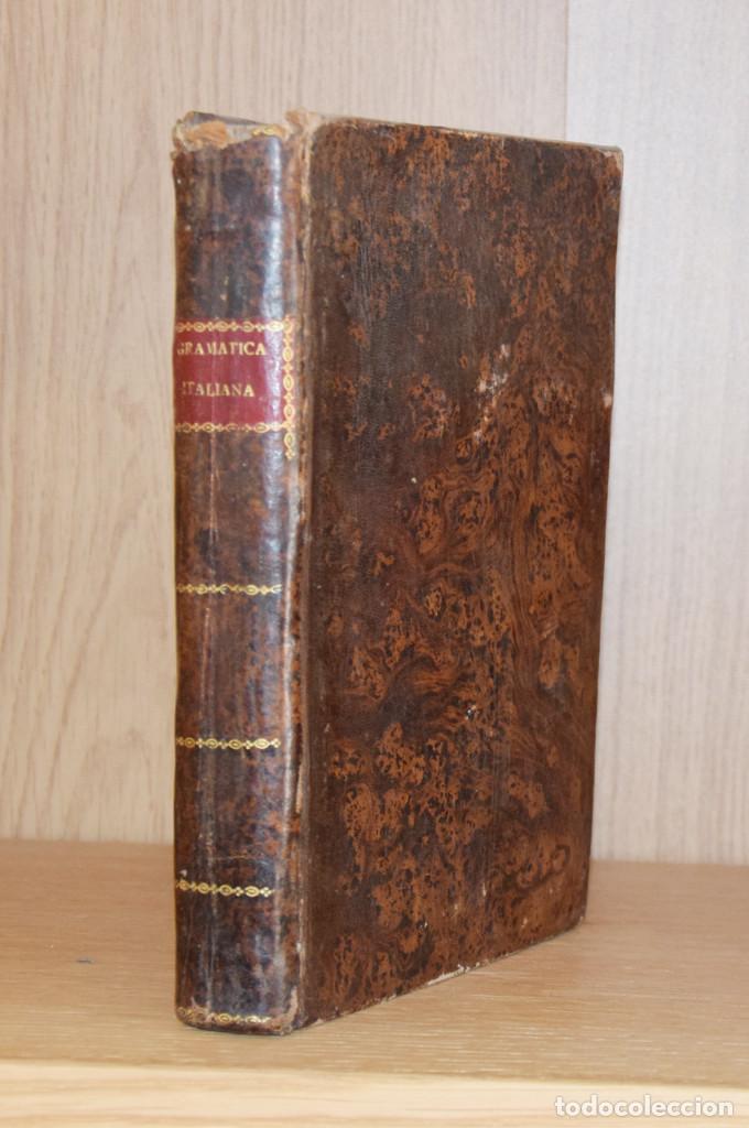 Libros antiguos: NUEVA Y COMPLETA GRAMÁTICA ITALIANA EXPLICADA EN ESPAÑOL... - Pedro ROMANO - Foto 2 - 194880611