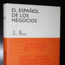Libros antiguos: EL ESPAÑOL DE LOS NEGOCIOS.. Lote 195172423