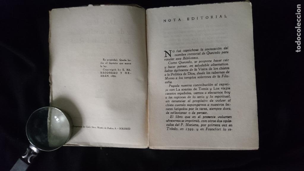 Libros antiguos: DEL REY Y LA DIGNIDAD REAL - Foto 3 - 195173670