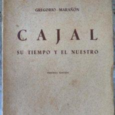 Libri antichi: CAJAL, SU TIEMPO Y EL NUESTRO. Lote 195849730