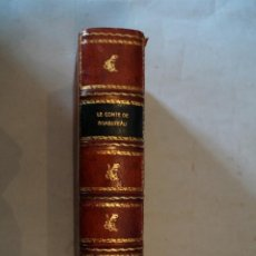 Libros antiguos: LETTRES DU MARECHAL DE TESSE. LE COMTE DE RAMBUTEAU. 1888. Lote 196452100