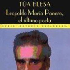 Libros antiguos: TÚA BLESA - LEOPOLDO MARÍA PANERO, EL ÚLTIMO POETA - VALDEMAR. MADRID, 1995. Lote 199426873