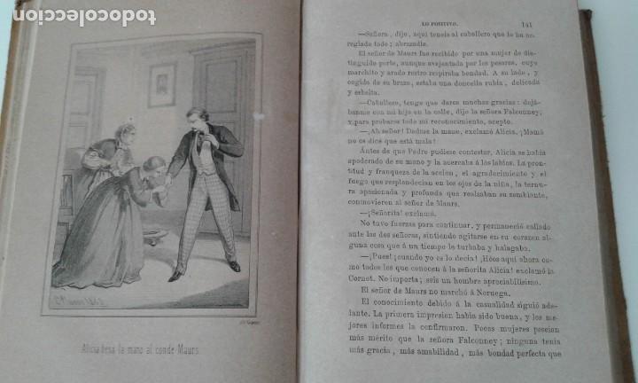 Libros antiguos: LO POSITIVO O MEMORIAS DE UN MILLONARIO 1863 ilustrado - Foto 6 - 203766577
