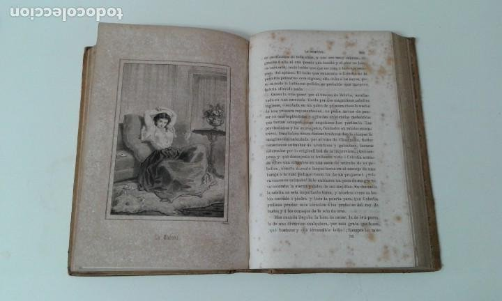 Libros antiguos: LO POSITIVO O MEMORIAS DE UN MILLONARIO 1863 ilustrado - Foto 8 - 203766577