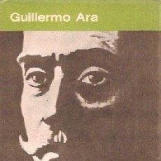 Libros antiguos: ARA, GUILLERMO - LA NOVELA NATURALISTA HISPANOAMERICANA - PRIMERA EDICIÓN. Lote 205001981