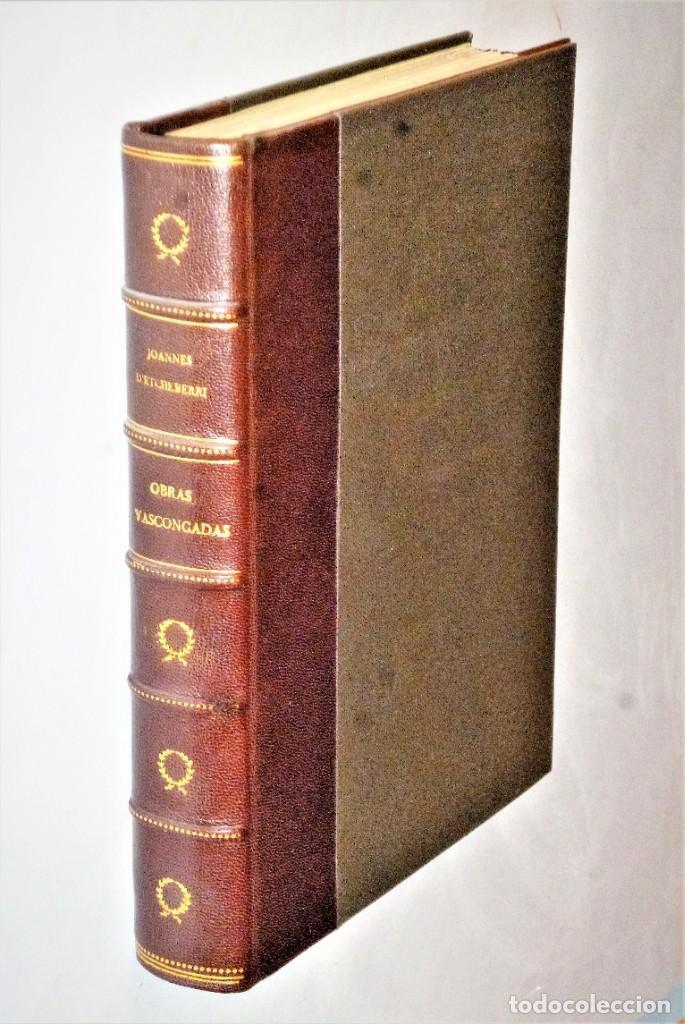 OBRAS VASCONGADAS DEL DOCTOR LABORTANO JOANNES D´ ETCHEVERRI (1712) (Libros antiguos (hasta 1936), raros y curiosos - Literatura - Ensayo)