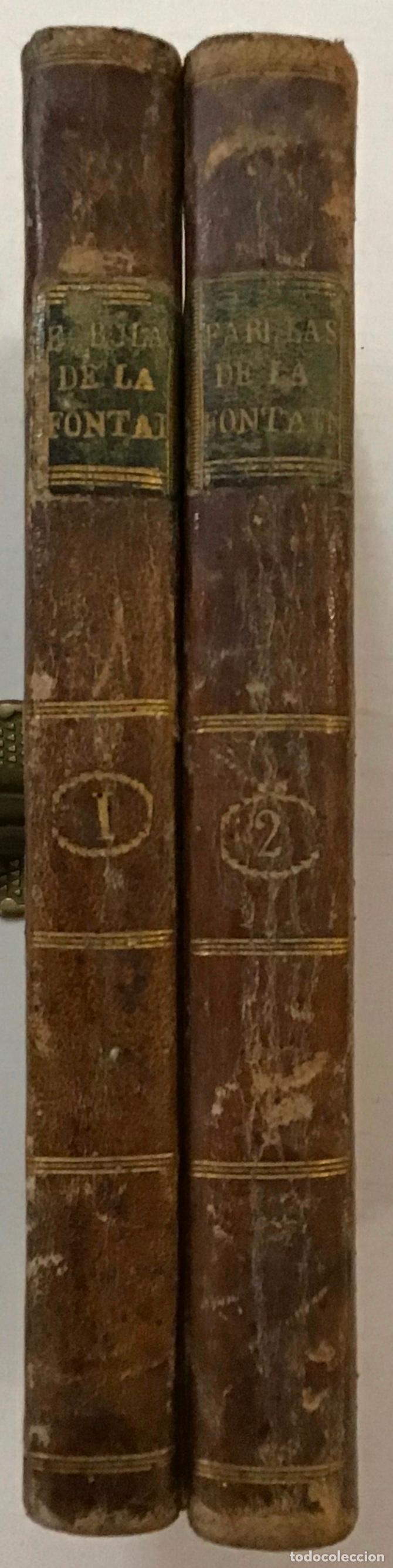 Libros antiguos: FÁULAS MORALES DE... EN VERSO CASTELLANO POR BERNARDO MARÍA DE CALZADA. - FONTAINE, Juan de la. - Foto 2 - 123189391
