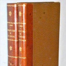 Libros antiguos: ARQUITECTURA DE LAS LENGUAS. 2 TOMOS. Lote 210070382