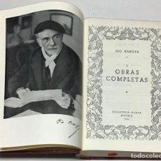 Libros antiguos: OBRAS COMPLETAS. - BAROJA, PÍO.. Lote 114797911
