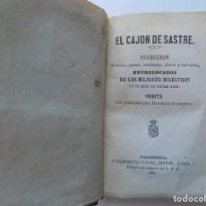 Libros antiguos: LIBRERIA GHOTICA. LIBRO MINIATURA. EL CAJON DE SASTRE.COLECCIÓN EN EL ARTE DE HACER REIR. 1861. Lote 215402268