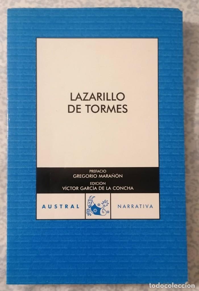 LAZARILLO DE TORMES - NOVELA ANÓNIMA - (Libros antiguos (hasta 1936), raros y curiosos - Literatura - Ensayo)