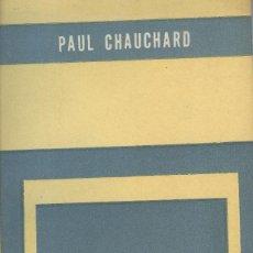 Libros antiguos: FISIOLOGÍA DE LA CONCIENCIA DE PAUL CHAUCHARD. Lote 217830970
