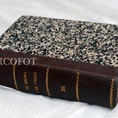 Libri antichi: DE BROMA Y DE VERAS - TOMO 26 - JUNIO 1936 .......... VER DESCRPCIÓN. Lote 218081337