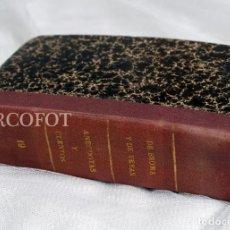 Libros antiguos: DE BROMA Y DE VERAS - TOMO 19 - ANÉCDOTAS Y CUENTOS..... Lote 218084153