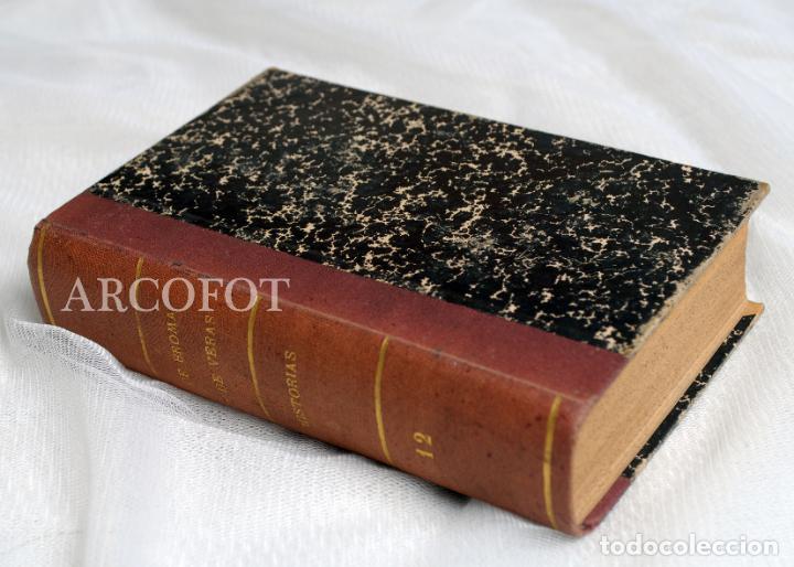 DE BROMA Y DE VERAS - TOMO 12 - HISTORIAS..... (Libros antiguos (hasta 1936), raros y curiosos - Literatura - Ensayo)
