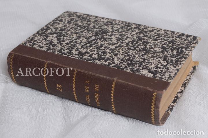 DE BROMA Y DE VERAS - TOMO 27 - SARTA DE ENTRETENIMIENTOS 1935 - DE BROMAS Y DE VERAS 1948 ..... (Libros antiguos (hasta 1936), raros y curiosos - Literatura - Ensayo)