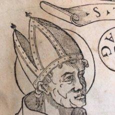 Libros antiguos: EDICIÓN PRÍNCIPE BEATO ALONSO DE OROZCO. GRABADOS. GÓTICO. 1554. Lote 219321145