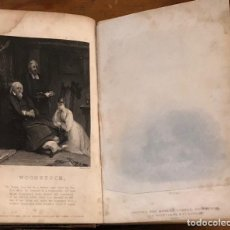 Libros antiguos: WAVERLEY NOVELS (39)-WOODSTOCK-VOL I(20€). Lote 221297520