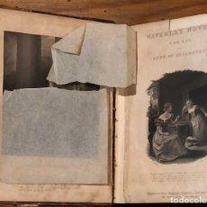 Libros antiguos: WAVERLEY NOVELS 44-ANNE OF GEIERSTEIS-VOL I(20€). Lote 221297828