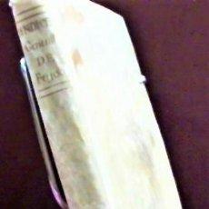 Libros antiguos: JOSEPH SANOS ... INDICE GENERAL ALFABETICO ... TODAS LAS OBRAS ... BENITO GERONIMO FEIJOO ... 1774. Lote 221492827