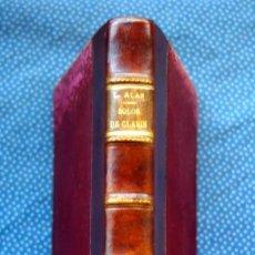 Libros antiguos: SOLOS DE CLARIN - LEOPOLDO ALAS- ALFREDO DE CARLOS HIERRO - 1ª EDICIÓN (1881). Lote 221623961
