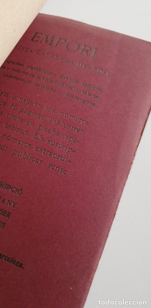 Libros antiguos: POÈTICA DARISTOTIL ( con dedicatoria y firma del autor Ignasi Casanovas, 1907.) - Foto 4 - 221783308