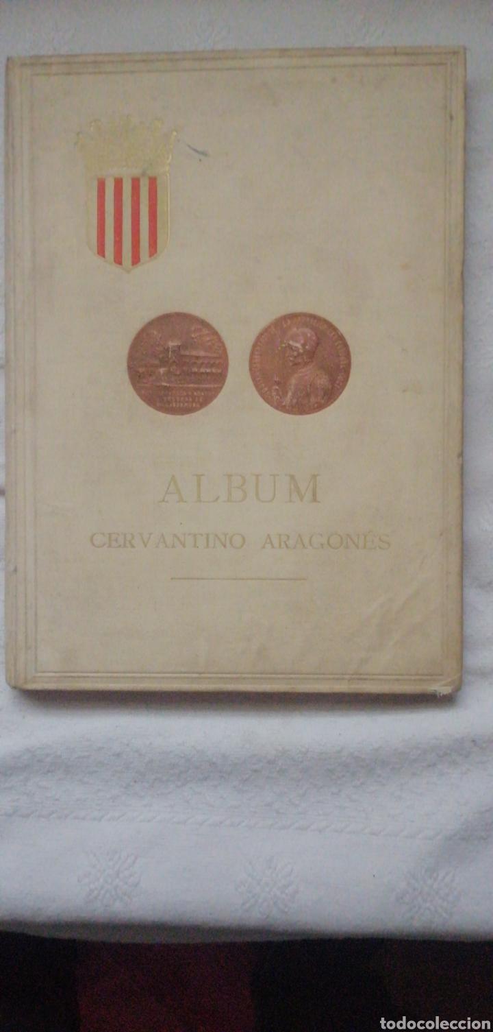 ALBUM CERVANTINO ARAGONÉS. DUQUESA DE VILLAHERMOSA. ZARAGOZA 1905 VIUDA É HIJOS DE M. TELLO IN FOLIO (Libros antiguos (hasta 1936), raros y curiosos - Literatura - Ensayo)