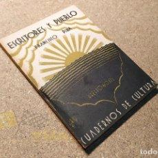 Libros antiguos: ESCRITORES Y PUEBLO - FRANCISCO PINA - 1930. Lote 224796712