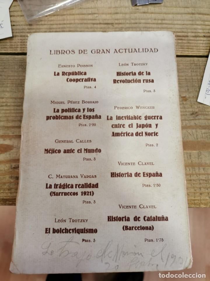Libros antiguos: Libro. Fermín Galán y su Nueva Creación. Capitán Claridades. Barcelona. 1931. - Foto 3 - 170102884