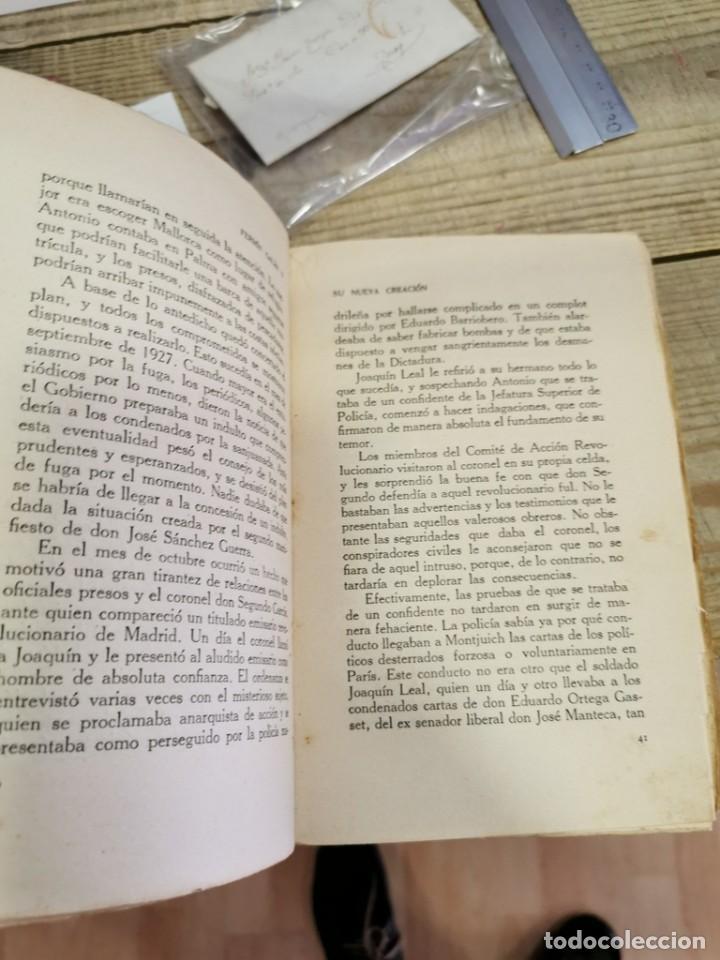 Libros antiguos: Libro. Fermín Galán y su Nueva Creación. Capitán Claridades. Barcelona. 1931. - Foto 5 - 170102884