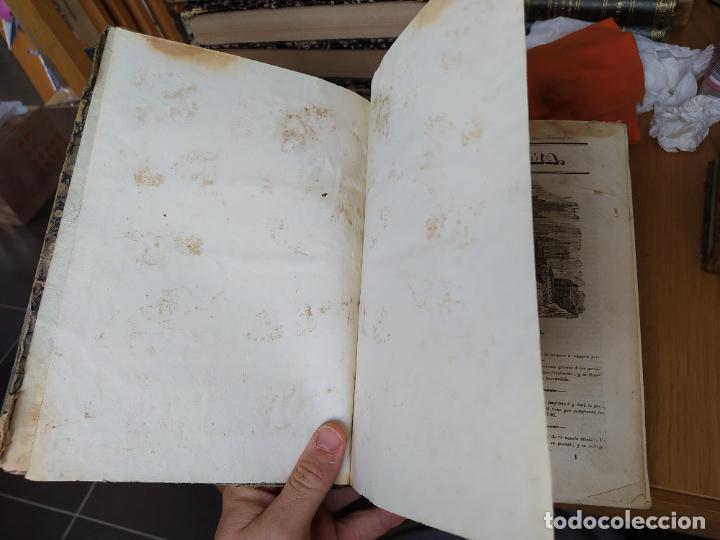 Libros antiguos: Revistas literarias El Panorama. Números de enero a septiembre de 1841. RARO - Foto 9 - 229661735