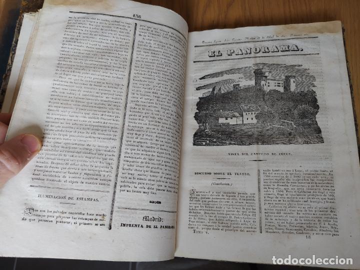 Libros antiguos: Revistas literarias El Panorama. Números de enero a septiembre de 1841. RARO - Foto 23 - 229661735