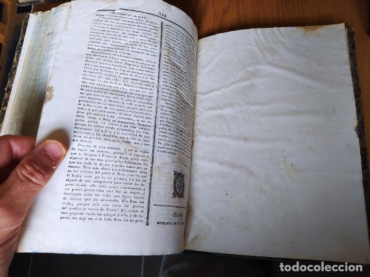 Libros antiguos: Revistas literarias El Panorama. Números de enero a septiembre de 1841. RARO - Foto 43 - 229661735