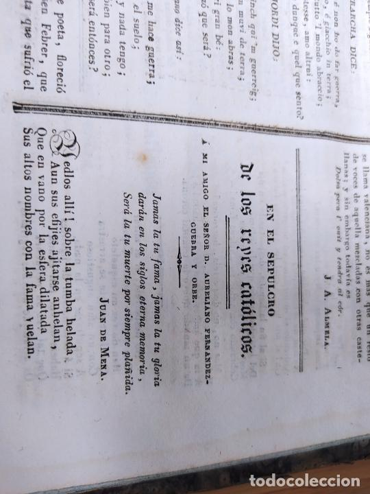 Libros antiguos: Revistas literarias El Panorama. Números de enero a septiembre de 1841. RARO - Foto 45 - 229661735