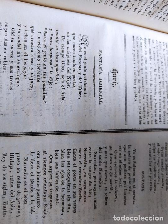 Libros antiguos: Revistas literarias El Panorama. Números de enero a septiembre de 1841. RARO - Foto 47 - 229661735