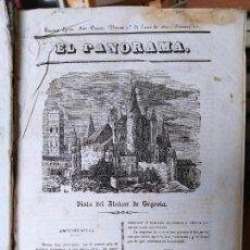 Libros antiguos: REVISTAS LITERARIAS EL PANORAMA. NÚMEROS DE ENERO A SEPTIEMBRE DE 1841. RARO. Lote 229661735