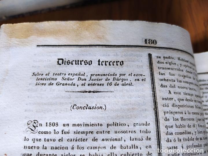 Libros antiguos: Revistas literarias El Panorama. Números de enero a septiembre de 1841. RARO - Foto 52 - 229661735