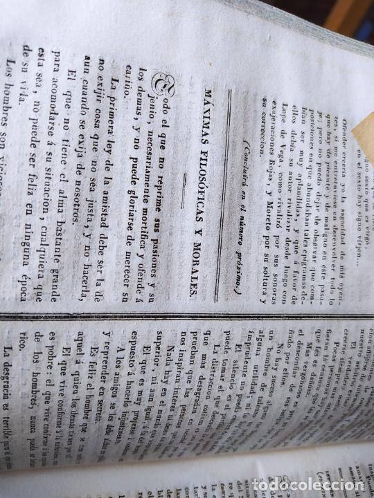 Libros antiguos: Revistas literarias El Panorama. Números de enero a septiembre de 1841. RARO - Foto 53 - 229661735