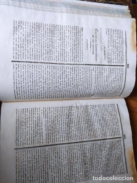 Libros antiguos: Revistas literarias El Panorama. Números de enero a septiembre de 1841. RARO - Foto 54 - 229661735