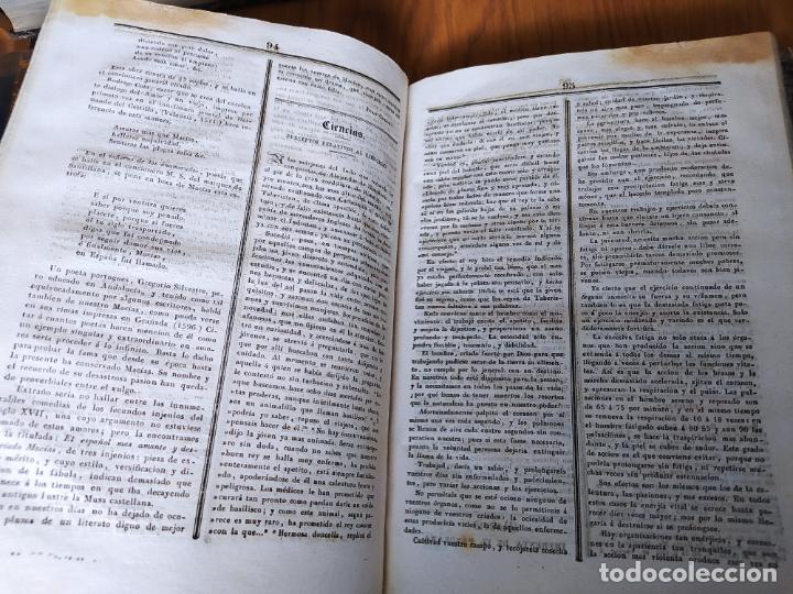 Libros antiguos: Revistas literarias El Panorama. Números de enero a septiembre de 1841. RARO - Foto 56 - 229661735