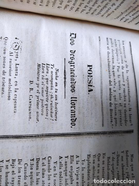 Libros antiguos: Revistas literarias El Panorama. Números de enero a septiembre de 1841. RARO - Foto 58 - 229661735