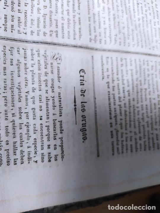Libros antiguos: Revistas literarias El Panorama. Números de enero a septiembre de 1841. RARO - Foto 59 - 229661735