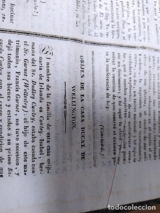Libros antiguos: Revistas literarias El Panorama. Números de enero a septiembre de 1841. RARO - Foto 60 - 229661735